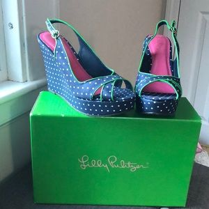 🆕 Lilly Pulitzer Picture Perfect Wedges